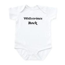 Wolveriness rock Infant Bodysuit