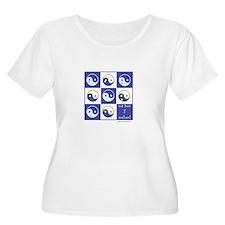 Unique Paw yin yang T-Shirt