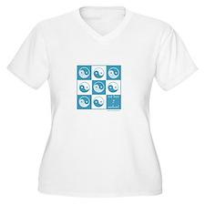 Paw yin yang T-Shirt