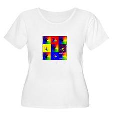 Cool Paw yin yang T-Shirt