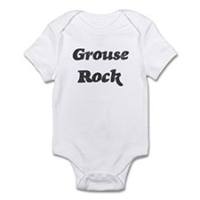 Grouses rock] Infant Bodysuit