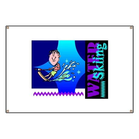 Water Skiing Banner