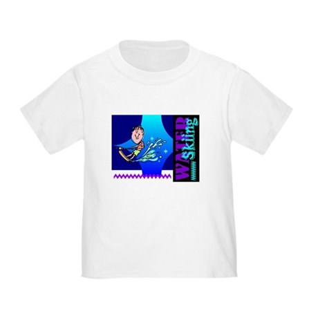Water Skiing Toddler T-Shirt