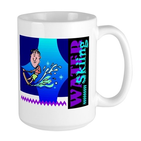 Water Skiing Large Mug