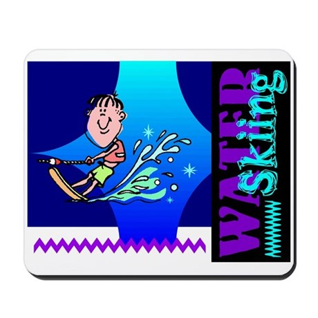 Water Skiing Mousepad