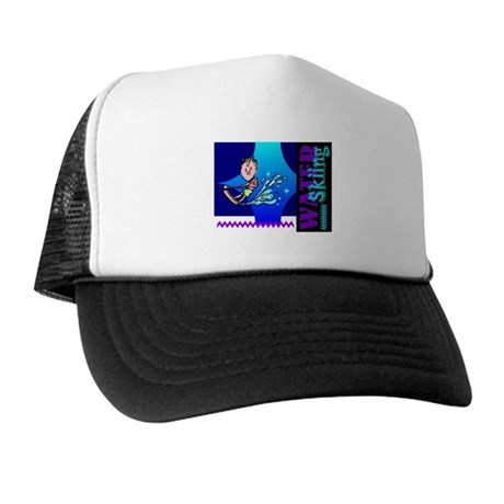 Water Skiing Trucker Hat