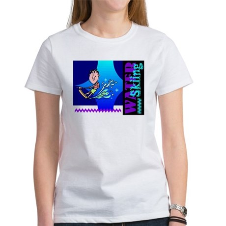 Water Skiing Women's T-Shirt