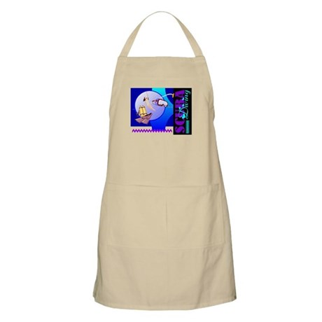 Female Scuba Diving BBQ Apron