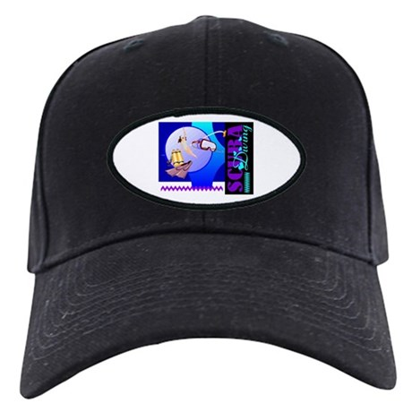 Female Scuba Diving Black Cap