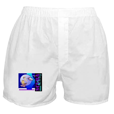Female Scuba Diving Boxer Shorts