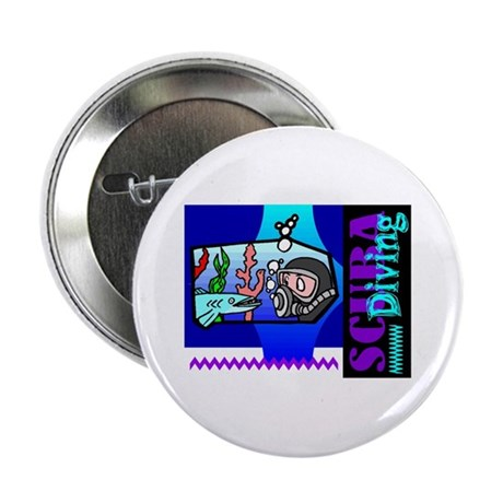 "Scuba Diving 2.25"" Button"