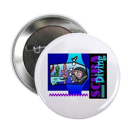 "Scuba Diving 2.25"" Button (10 pack)"