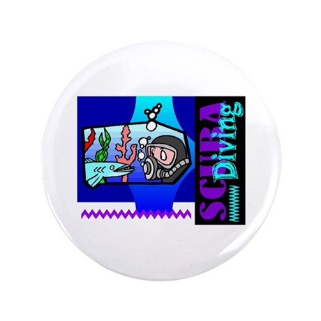 "Scuba Diving 3.5"" Button"