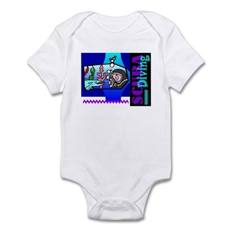 Scuba Diving Infant Bodysuit