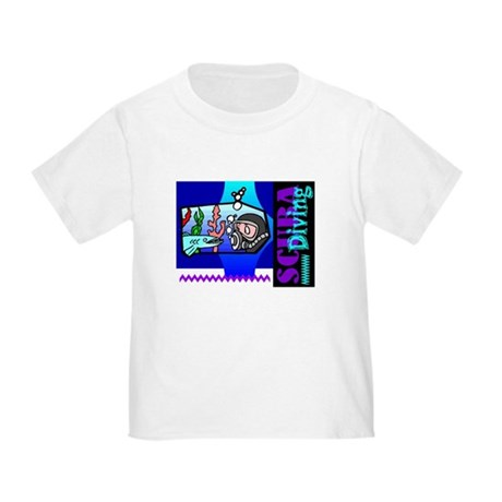 Scuba Diving Toddler T-Shirt