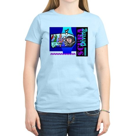 Scuba Diving Women's Light T-Shirt