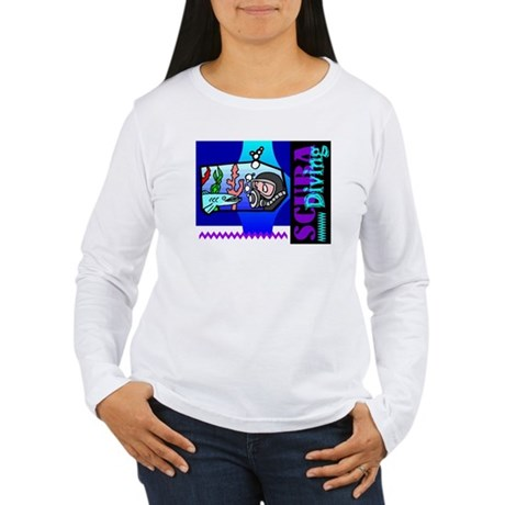 Scuba Diving Women's Long Sleeve T-Shirt