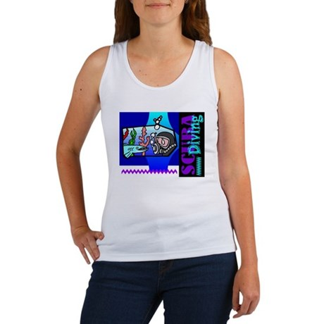 Scuba Diving Women's Tank Top
