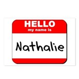 Hello my name is Nathalie Postcards (Package of 8)