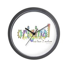 Unique Born to yoga Wall Clock
