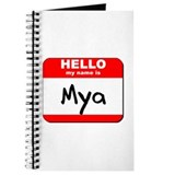 Hello my name is Mya Journal