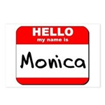 Hello my name is Monica Postcards (Package of 8)
