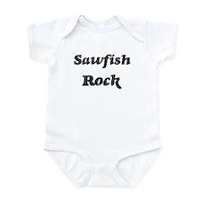 Sawfishs rock] Infant Bodysuit