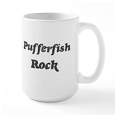 Pufferfishs rock Coffee Mug
