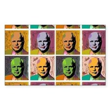 McCain Mao Rectangle Decal