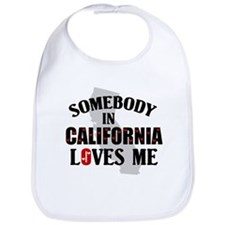Somebody In California Bib