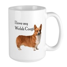I love my Welsh Corgi Coffee Mug