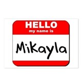 Hello my name is Mikayla Postcards (Package of 8)