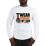 I Wear Orange For My Son Long Sleeve T-Shirt