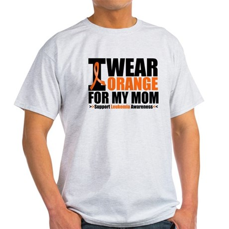 I Wear Orange For My Mom Light T-Shirt
