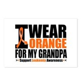 I Wear Orange For My Grandpa Postcards (Package of