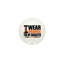 I Wear Orange For My Daughter Mini Button (10 pack