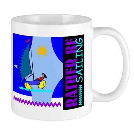 Rather Be Sailing Mug