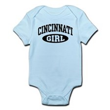 Cincinnati Girl Infant Bodysuit