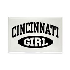 Cincinnati Girl Rectangle Magnet
