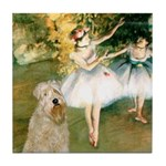 Dancer1/Wheaten T Tile Coaster