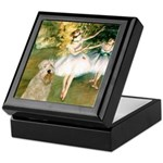 Dancer1/Wheaten T Keepsake Box