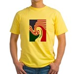 mexico Yellow T-Shirt
