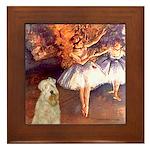 Dancer1/Wheaten T (7) Framed Tile