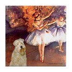 Dancer1/Wheaten T (7) Tile Coaster