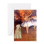 Dancer1/Wheaten T (7) Greeting Card