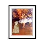 Dancer1/Wheaten T (7) Framed Panel Print