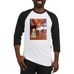 Dancer1/Wheaten T (7) Baseball Jersey