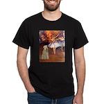Dancer1/Wheaten T (7) Dark T-Shirt