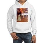 Dancer1/Wheaten T (7) Hooded Sweatshirt