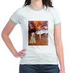 Dancer1/Wheaten T (7) Jr. Ringer T-Shirt